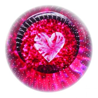 Forever In My Heart Paperweight by Caithness Glass