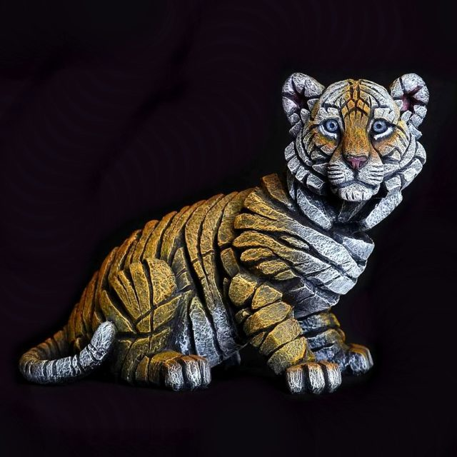 Tiger Cub Sculpture by Matt Buckley, Edge Sculpture
