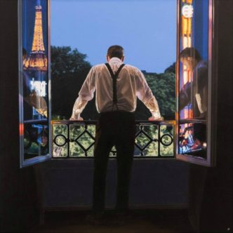 Paris 7.48pm Limited edition print by Iain Faulkner