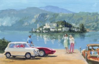 Study of Italian Job Lives III by Tony Smith Mini Art