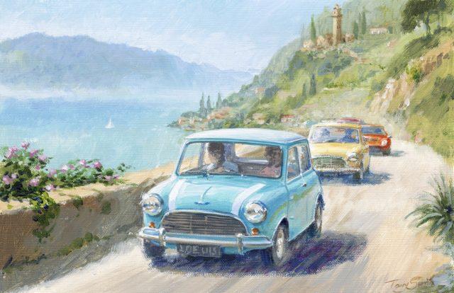Study of Italian Job Lives IV by Tony Smith Mini Art