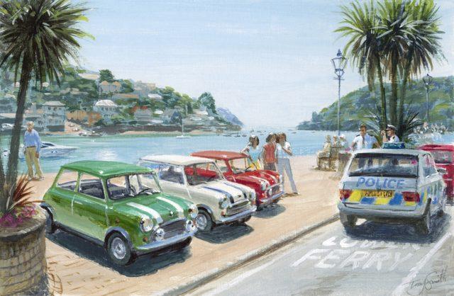 The Italian Job Lives - Dartmouth by Tony SMith Mini Art