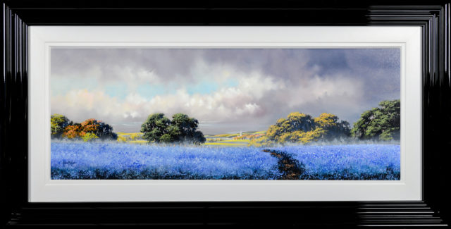 Cornflower Blue by Allan Morgan