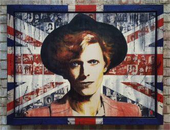 Made in Britain: Bowie (Original) by Rob Bishop David Bowie Art