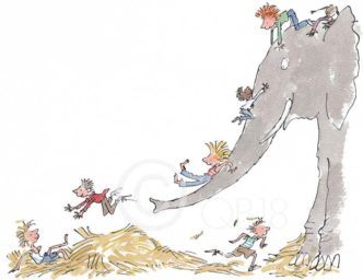 It's Large and Grey and Lots Of Fun by Quentin Blake