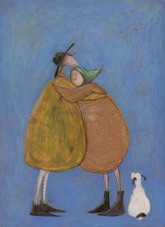 Last Hug of the Day Sam Toft Signed Limited Edition Print