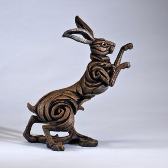 Hare Brown Matt Buckley Edge Sculpture