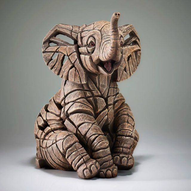 Elephant Calf Sculpture by Matt Buckley Edge Sculpture