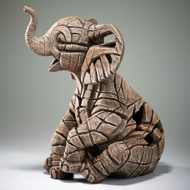 Elephant Calf Sculpture by Matt Buckley, Edge, Robert Harrop Designs.
