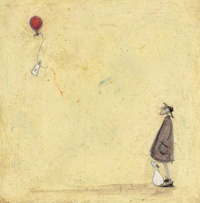 A Note To Say Signed Limited Edition Print by Sam Toft