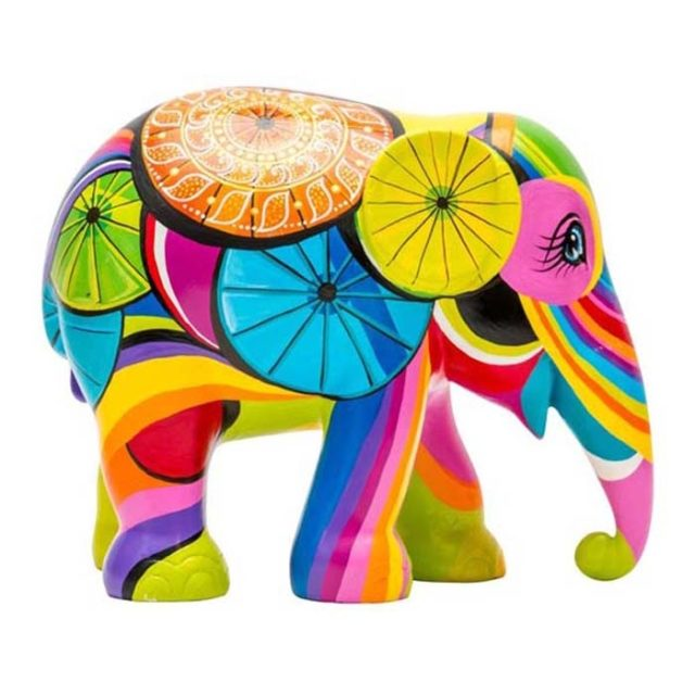 The Colours of Chiang Mai Elephant Parade
