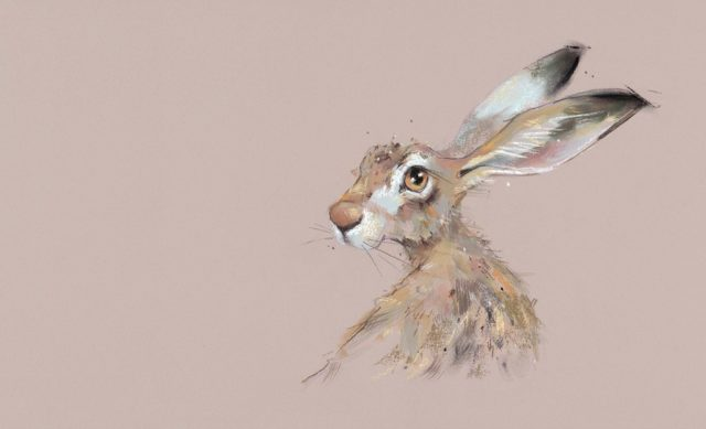 Hermione by Nicky Litchfield Hare Print
