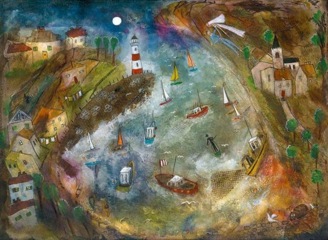 Harbour Life by Rose Sepple