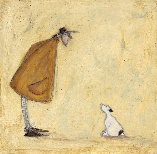 Together Always Signed Limited Edition Print by Sam Toft