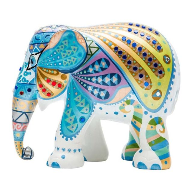 Mosaic Wings Elephant Parade