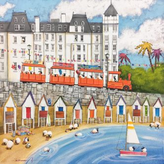 Wish Ewe Were 'Ere (Torquay) by Dale Bowen torquay art