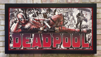 BISH574 Deadpool OV4 116 x 58
