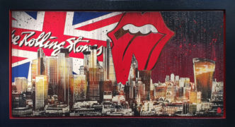 BISH581 London Skyline: The Stones Rob Bishop