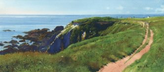 A Languid Summer Day by Richard Thorn Devon Art