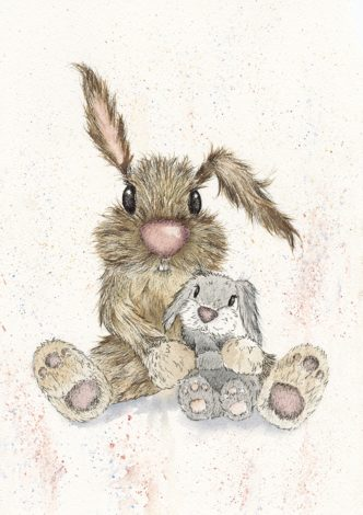 Just The Two of Us Print by Lisa Holmes