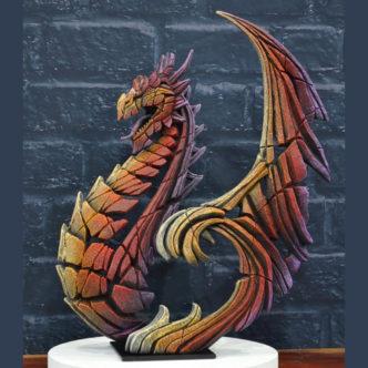 Dragon Brimstone Matt Buckley Edge Sculpture