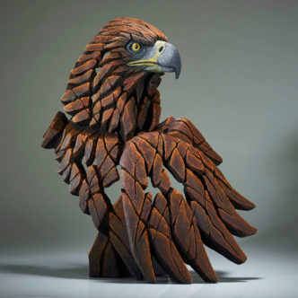 Golden Eagle by Edge Sculpture