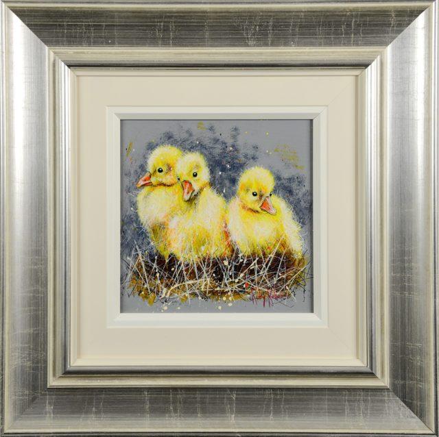Chicks (Original) by Ruby Keller