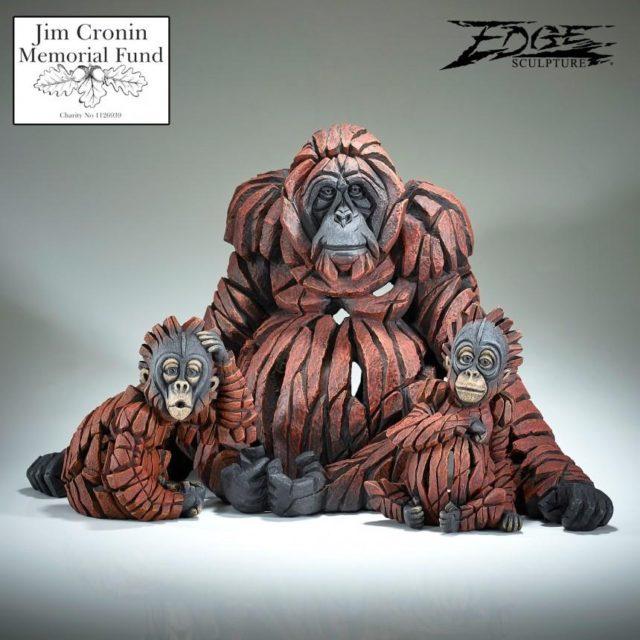 Baby OH Orangutan Sculpture by Matt Buckley, Edge, Robert Harrop Designs.