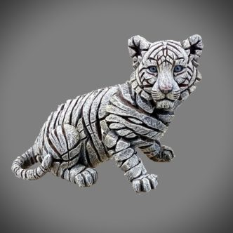 Siberian Tiger Cub Matt Buckley Edge Sculpture