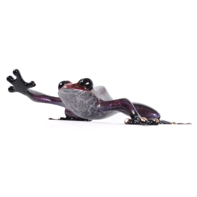 *UK Exclusive* Sugar Plum (Solid Bronze Frog Sculpture) by Tim Cotterill Frogman Torquay Devon
