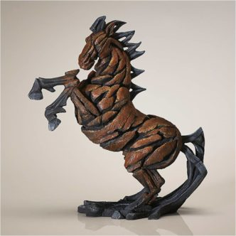 Bay Horse Rearing by Matt Buckley Edge Sculpture