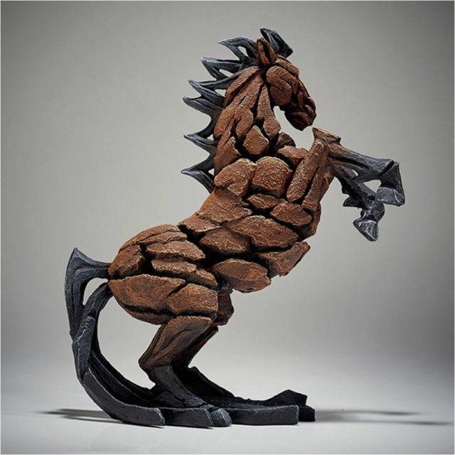 Bay Horse Rearing by Matt Buckley Edge Sculpture