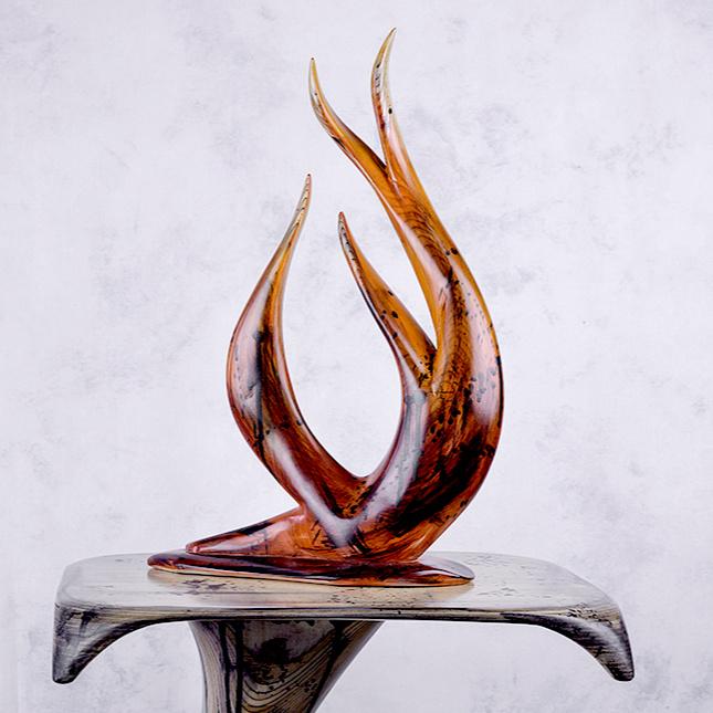 Reg Bishop Wood Sculpture