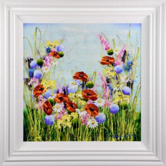 Blue Meadow by Rozanne Bell