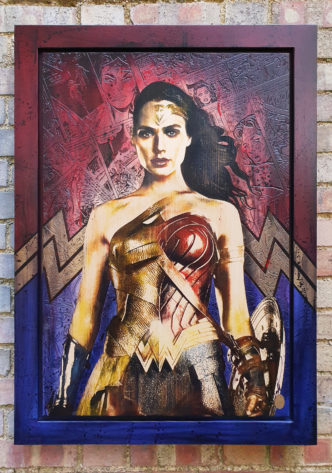 BISH565 Wonder Woman OV1 58 x 86
