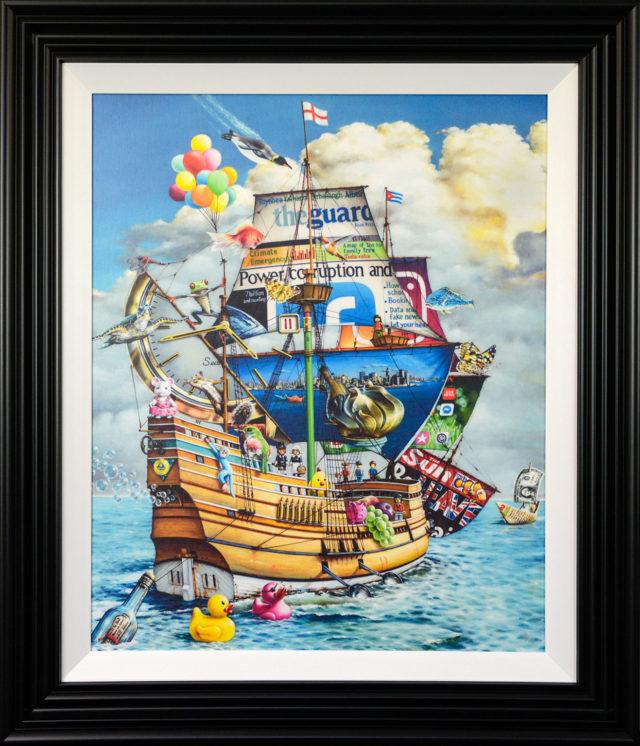 The Mayflower by Alberto Martinez