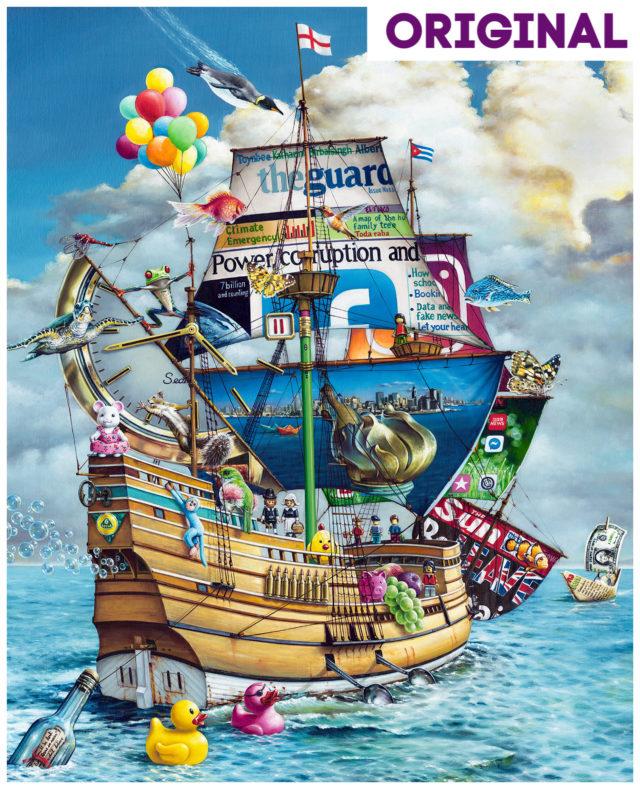 The Mayflower Original by Alberto Martinez