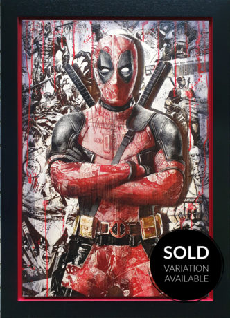 BISH585 Comic On Deadpool SOLD