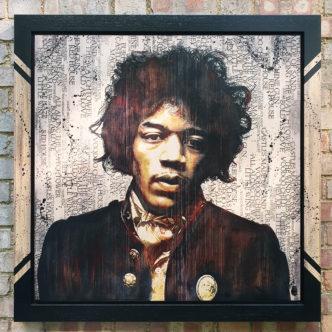 BISH592 Jimi Hendrix Rob Bishop