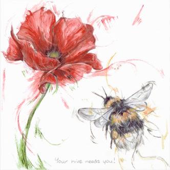 ASN-74 Aaminah Snowdon Your Hive Needs You!