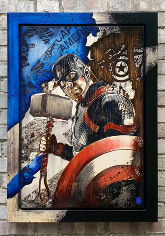 BISH718 Captain America Rob Bishop