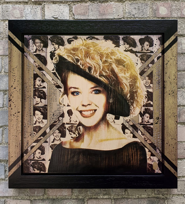 BISH741 Kylie Minogue Rob Bishop