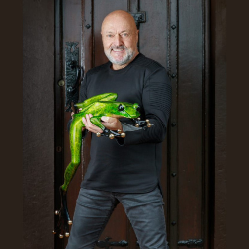 Tim Cotterill Frogman Bronze