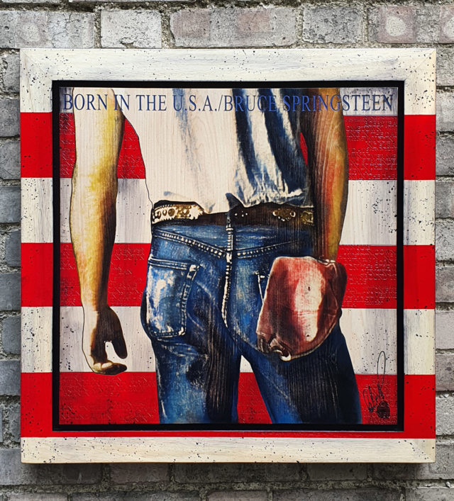 BISH758 Born In The USA Bruce Springsteen Rob Bishop