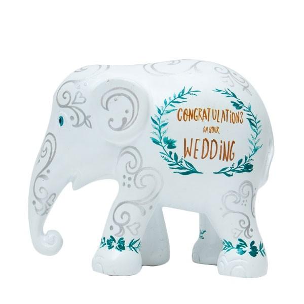 Elephant Parade Wedding Love Birds
