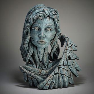 Angel Bust Teal Edge Sculpture
