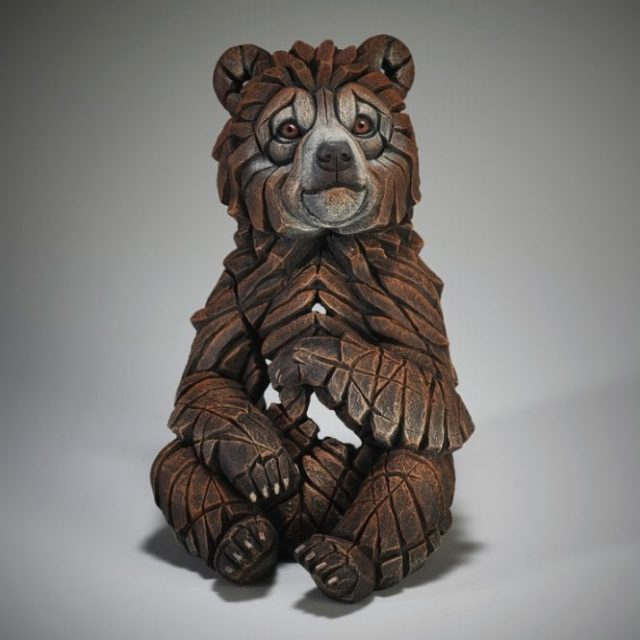 Edge Sculpture Bear Cub
