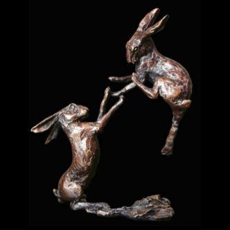 2012 Boxing hares Butler & Peach