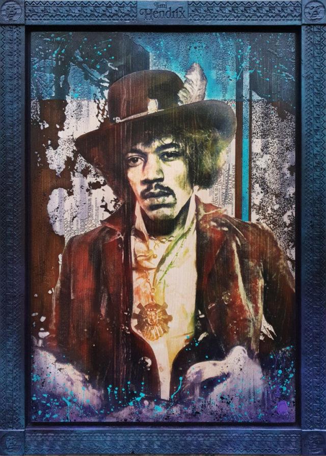 BISH798 Rob Bishop Hendrix Deluxe Variation