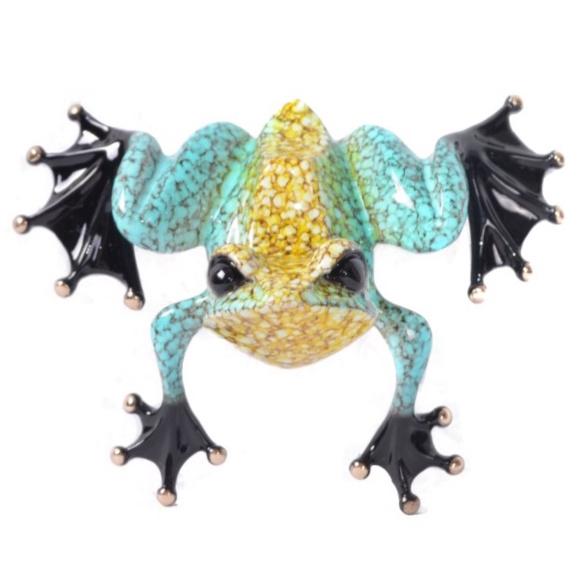 Frogman Bronze Lil Pebbles Tim Cotterill